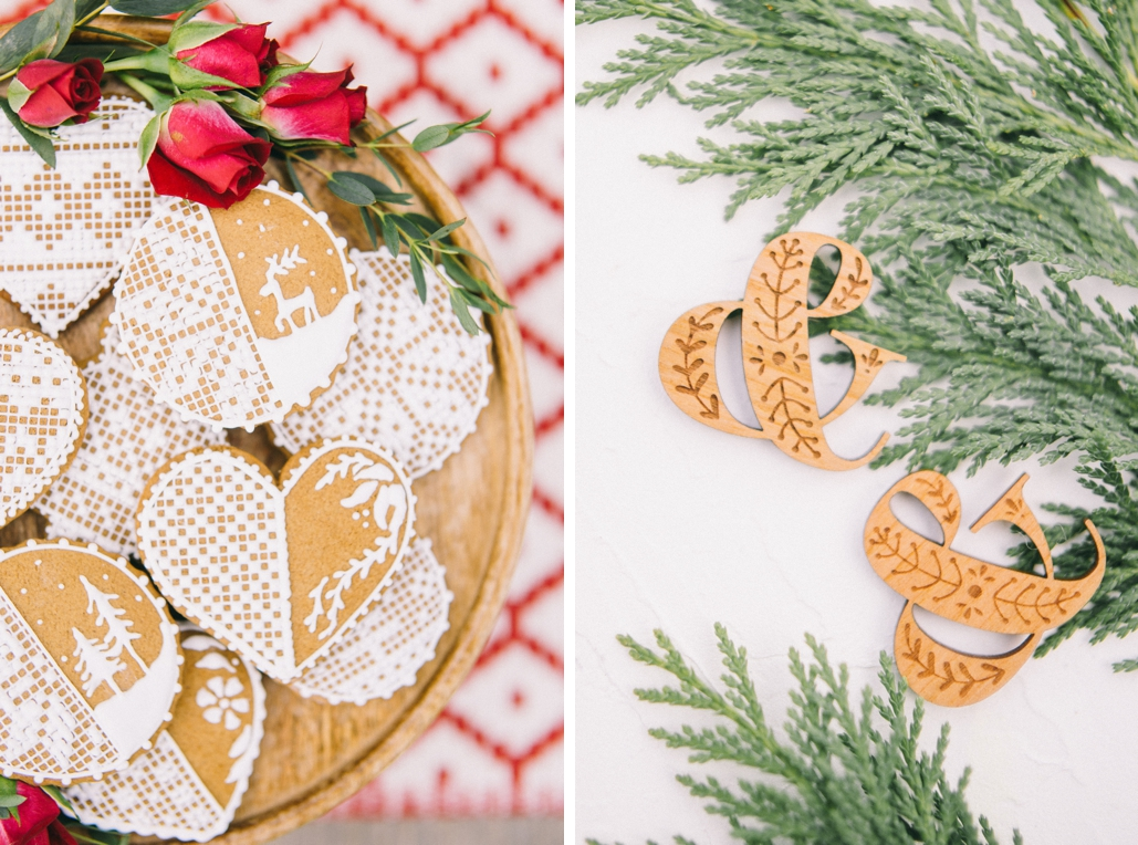 custom wood tags for wedding favors and invitations, and ampersand symbol wedding monogram