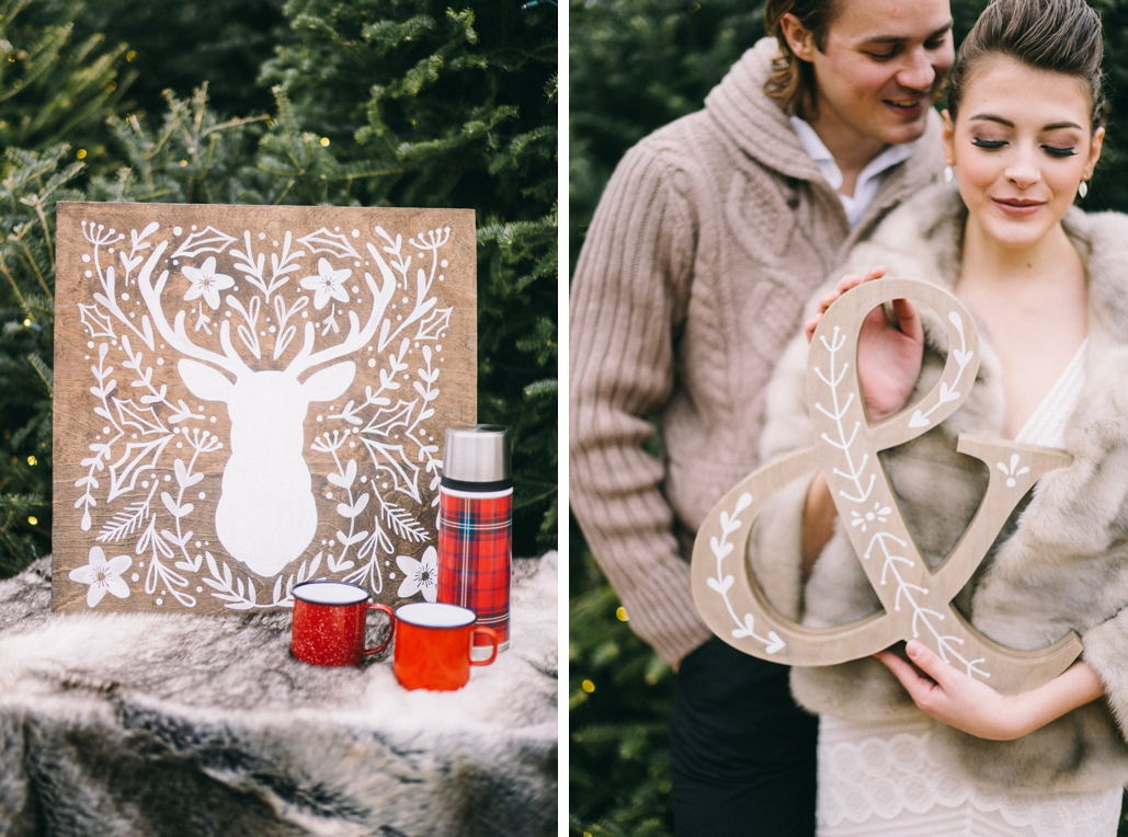 custom painted wedding signs, wood minimal decor ideas to match your invitations